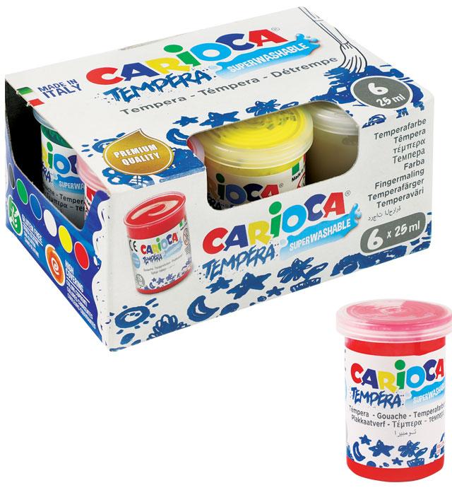 Farba Carioca tempera 25 ml a`6(KO022)