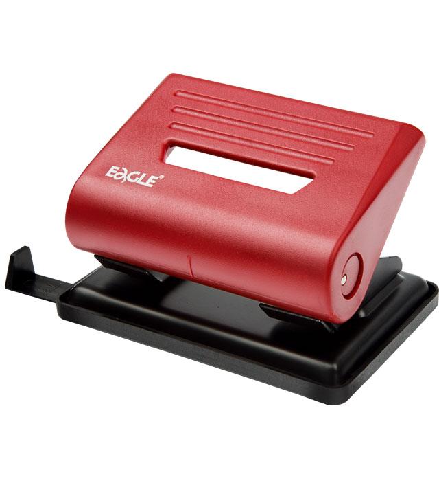 Dziurkacz EAGLE 837  czerwony 25 kartek