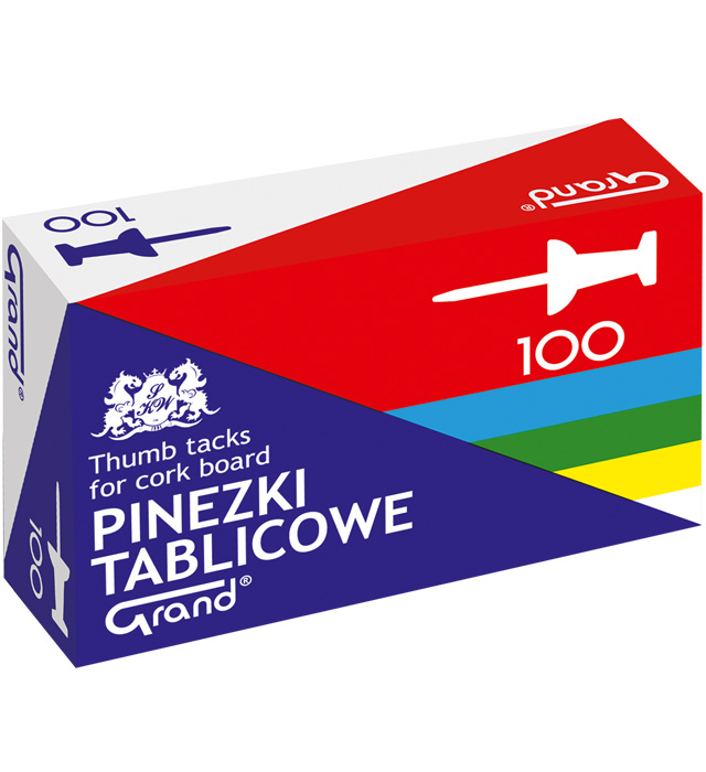 Pinezki GRAND tablicowe op.- 100 szt.