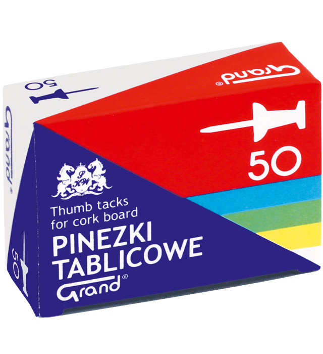 Pinezki GRAND tablicowe op.- 50 szt.