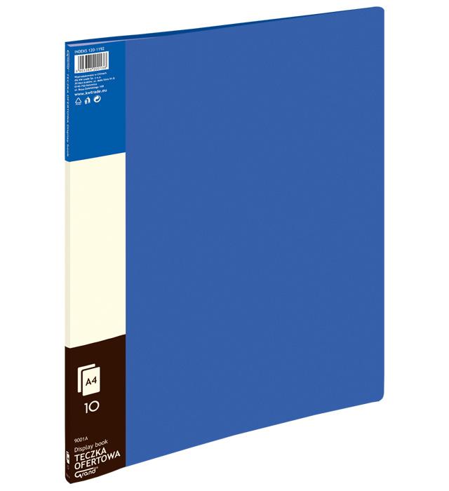 Teczka ofertowa 9001 A  10 koszulek GRAND niebieska