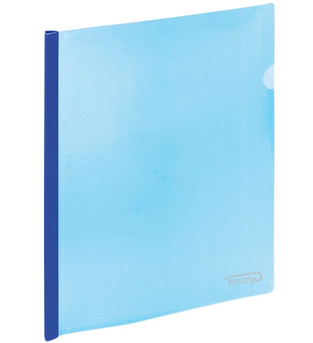Skoroszyt zaciskowy 9111 niebieski GRAND