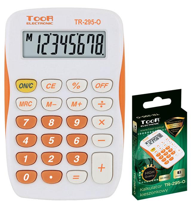Kalkulator kieszonkowy TOOR TR-295-O 8-pozycyjny kieszonkowy
