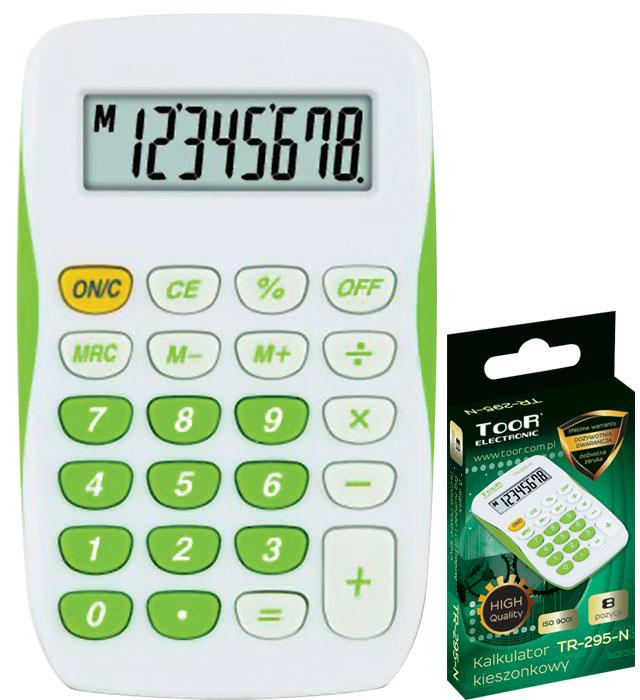 Kalkulator kieszonkowy TOOR TR-295-N 8-pozycyjny kieszonkowy