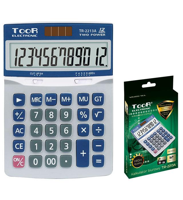Kalkulator biurowy TOOR TR-2213A -12 pozycji