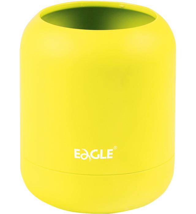 Pojemnik na długopisy EAGLE TYP691 Ha! żółty