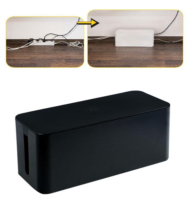 Pojemnik na kable YL-PK320C czarny