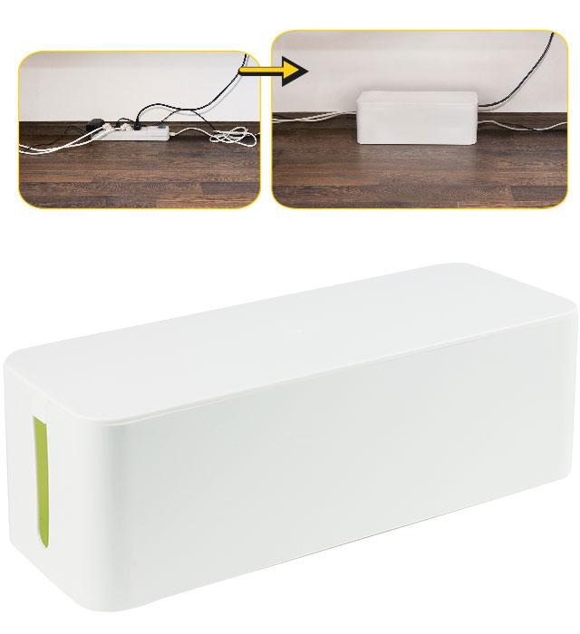 Pojemnik na kable YL-PK405B biały