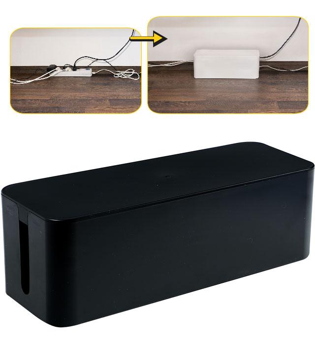 Pojemnik na kable YL-PK405C czarny
