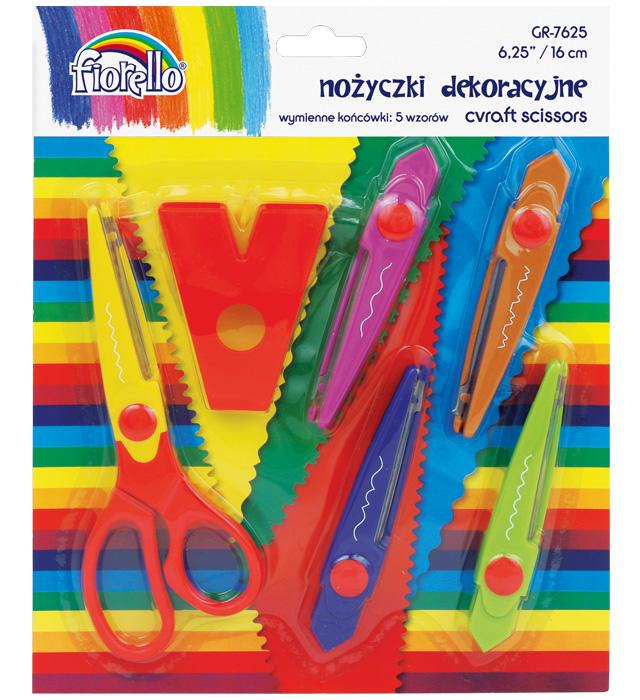 Nożyczki Fiorello 6,25 GR-7625 - 16 cm Dekoracyjne