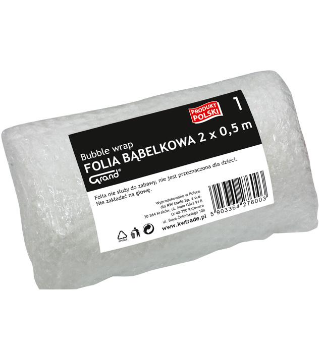 FOLIA BĄBELKOWA GRAND  2m x 0,5 m
