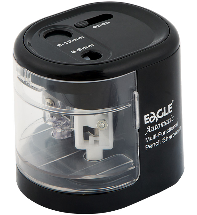 Temperówka na baterie EAGLE EG-5161USB dwuotworowa czarna