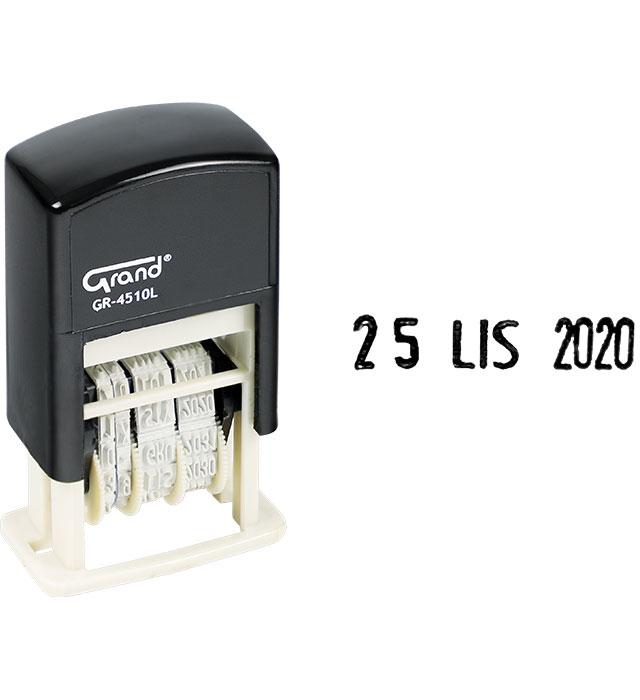 Datownik GRAND GR-4510L literowo-cyfrowy