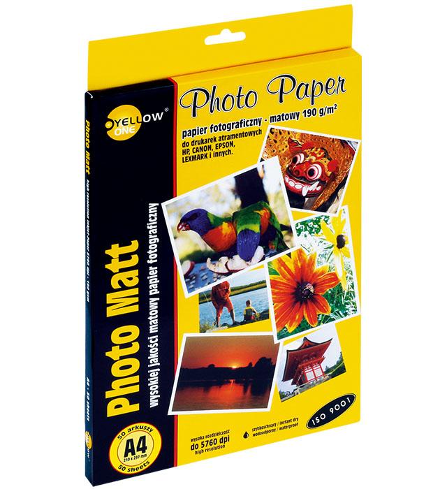 Papier foto A4 190g A50 mat.    (4M190)