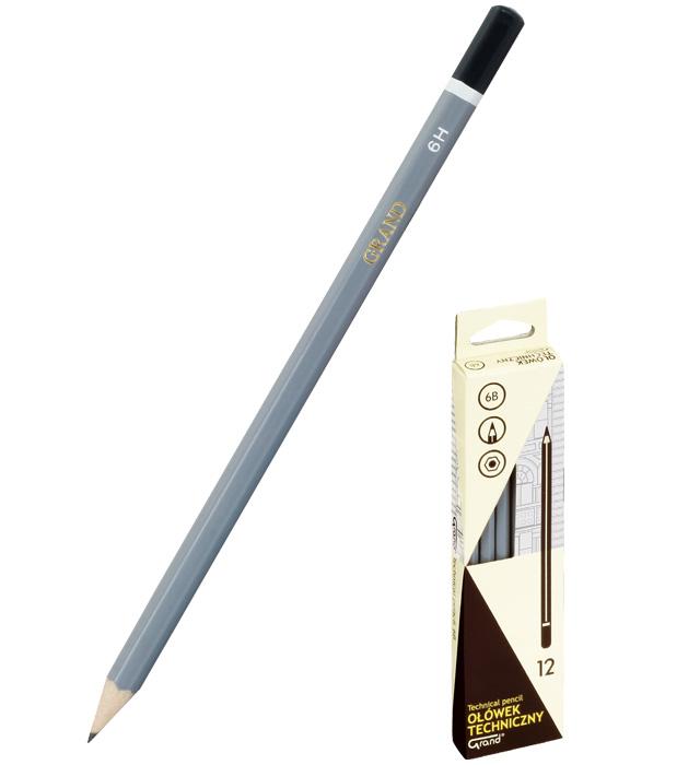 Ołówki techniczne 2B a