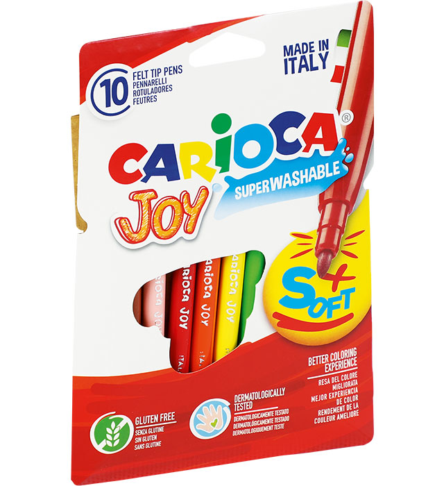 Pisaki Carioca Joy 10 kol. (40528)