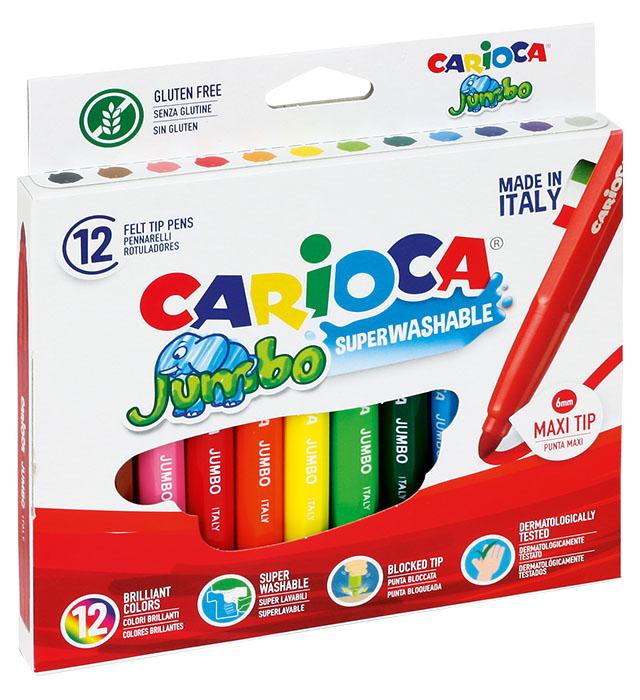 Pisaki Carioca Jumbo 12 kol.  (40569)