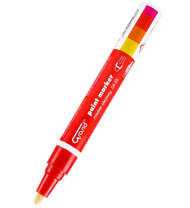 Marker olejowy GRAND GR-25 czerwony