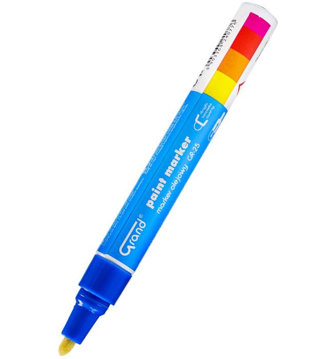 Marker olejowy GRAND GR-25 niebieski