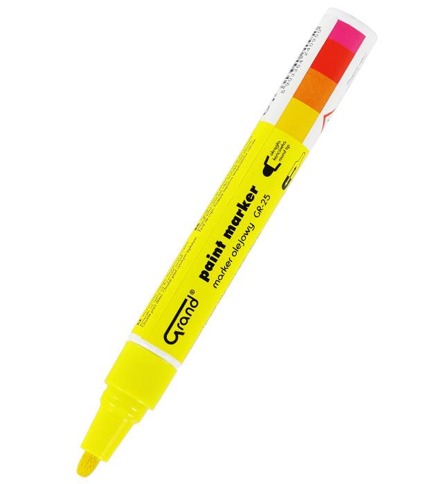 Marker olejowy GRAND GR-25 żółty