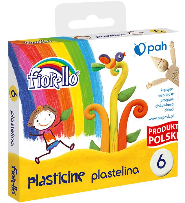 Plastelina 6 kol Fiorello