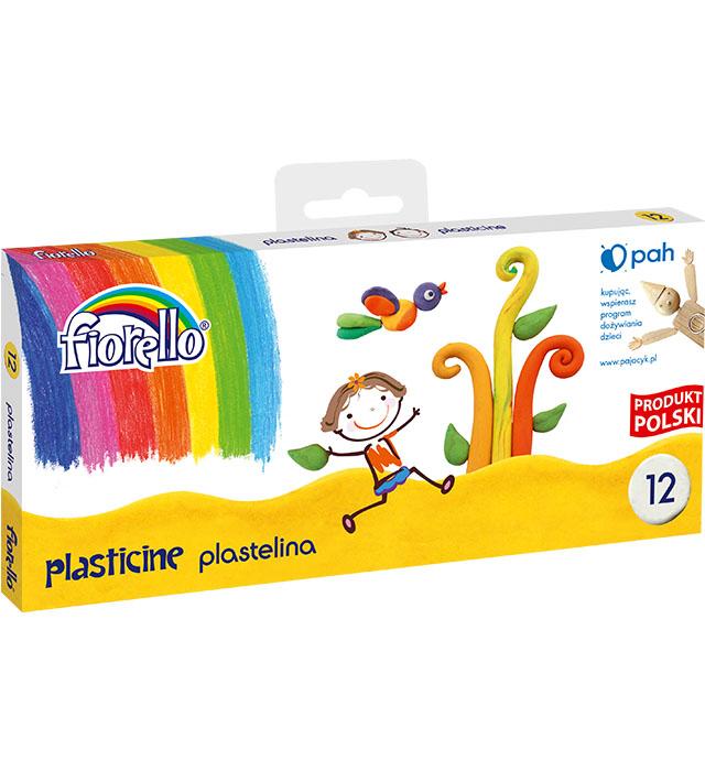 Plastelina 12 kol Fiorello