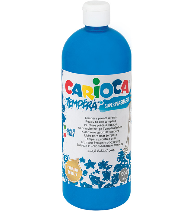 Farba Carioca tempera 1000 ml (KO030/05) błękit/niebieski