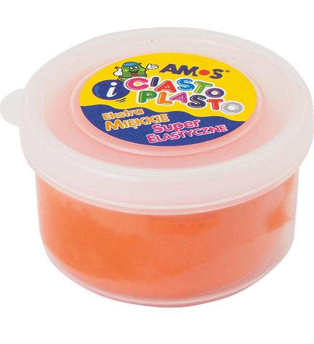 CiastoPlasto AMOS 30 g kolor pomarańczowy