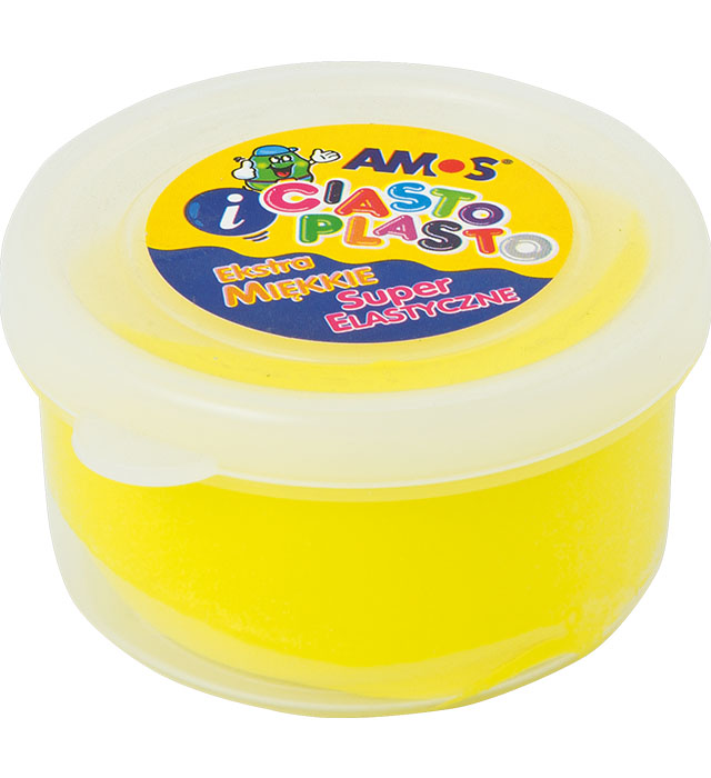 CiastoPlasto AMOS 30 g kolor żółty
