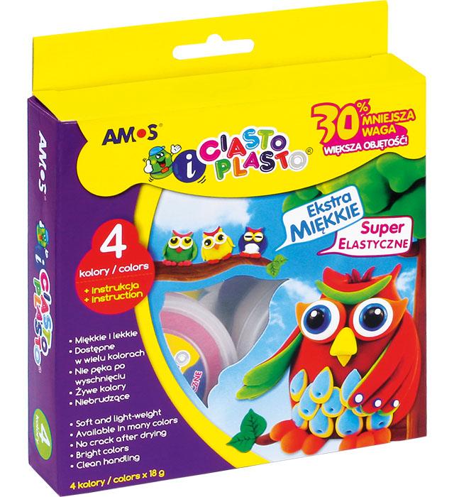 CiastoPlasto AMOS IC18P4 - 4 kolory