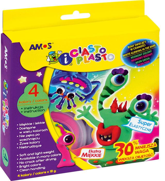 CiastoPlasto AMOS IC18P4S Fluo - 4 kolory