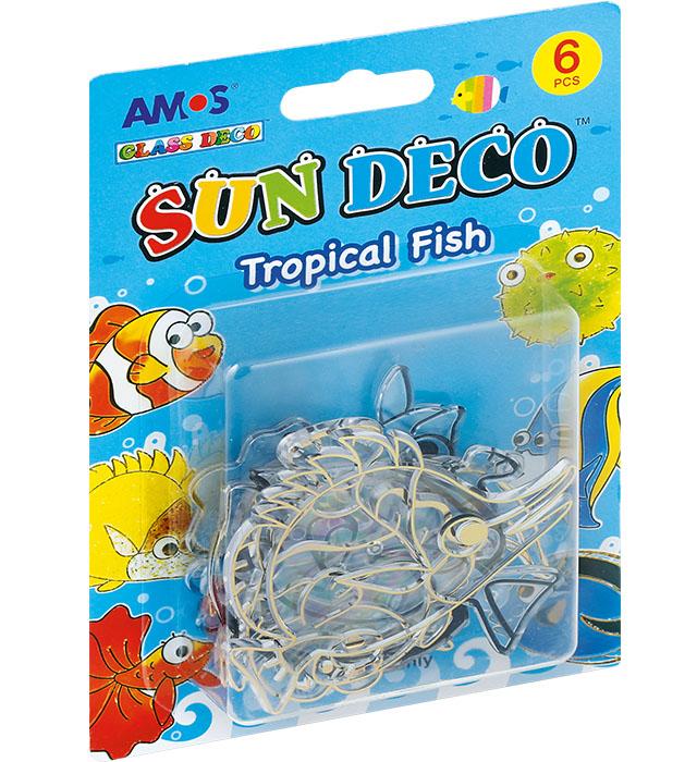 Witraże AMOS SCS6-TF Tropical Fish (rybki)