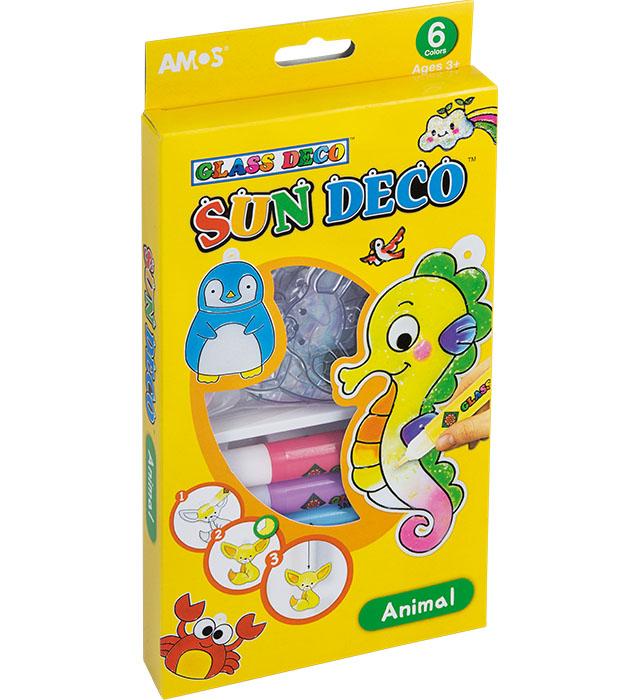 Farby witrażowe AMOS SD10P6-A  Animal (zwierzęta)