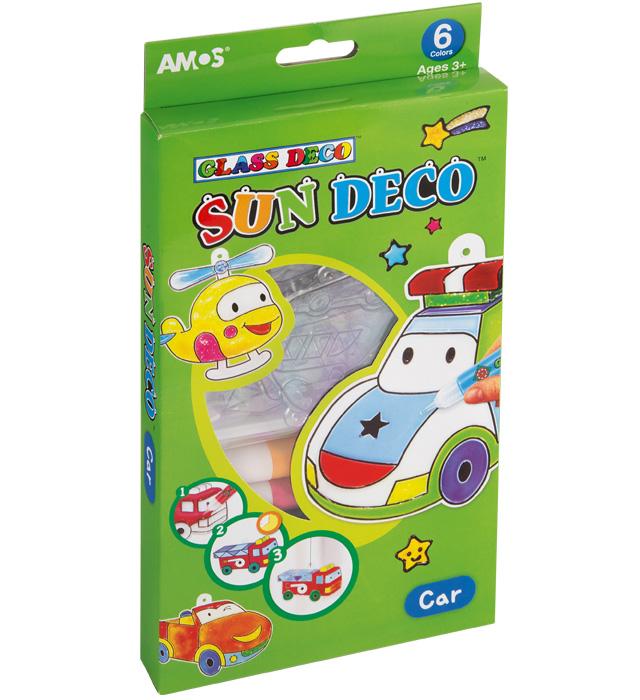 Farby witrażowe AMOS SD10P6-C Car (autka)