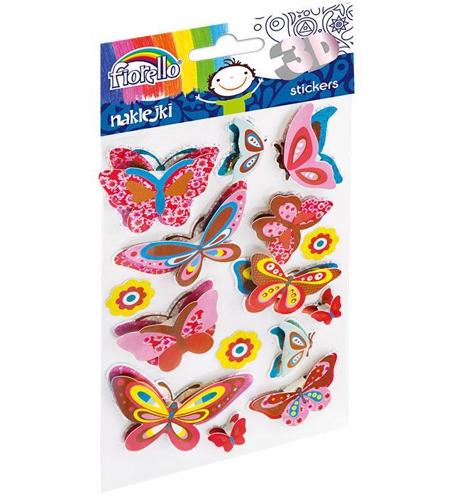 Naklejki dekoracyjne 3D Fiorello GR-NP018 motyle