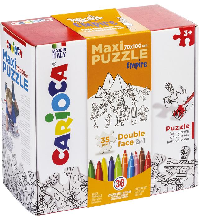 Zestaw puzzli do rysowania Carioca EMPIRE 36 kol (42836)